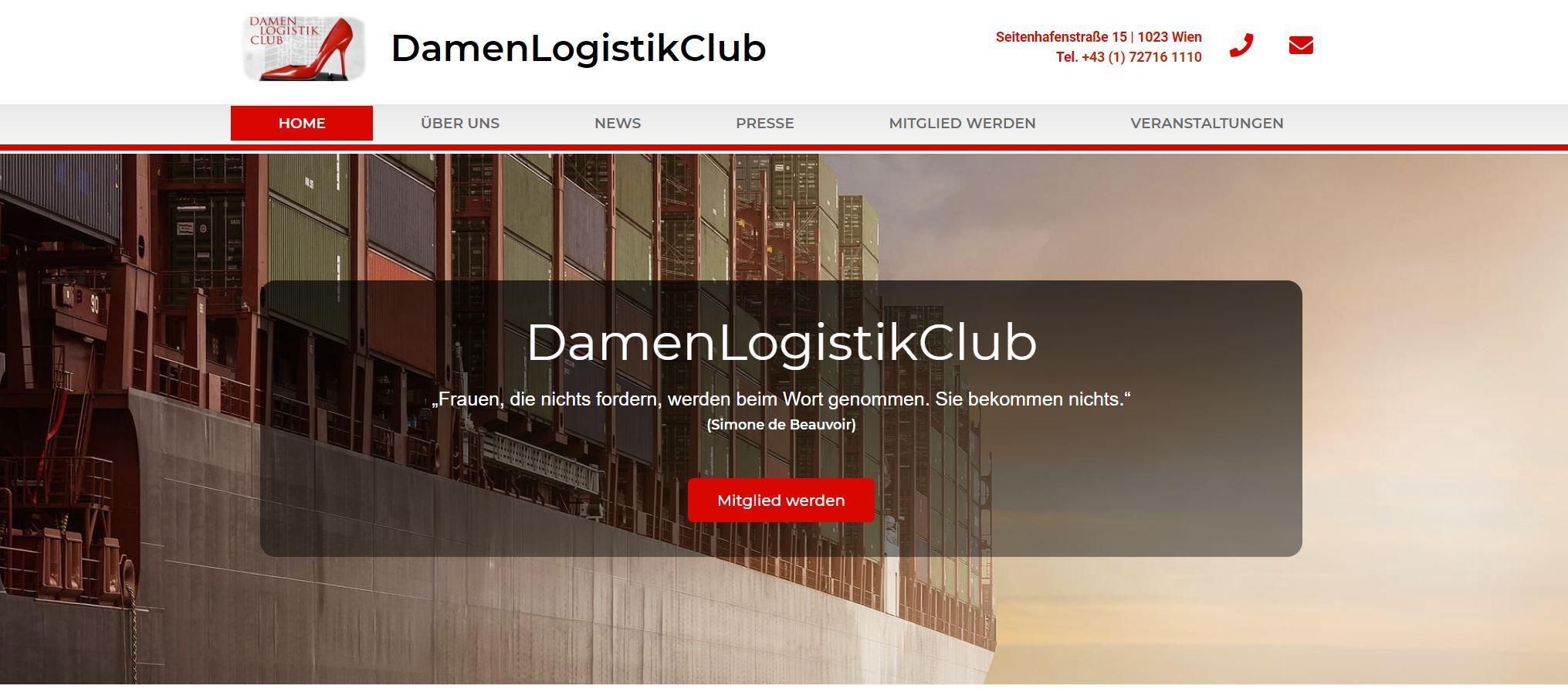 Der Damenlogistikclub ist das Portal der die Logistikszene in Österreichs
