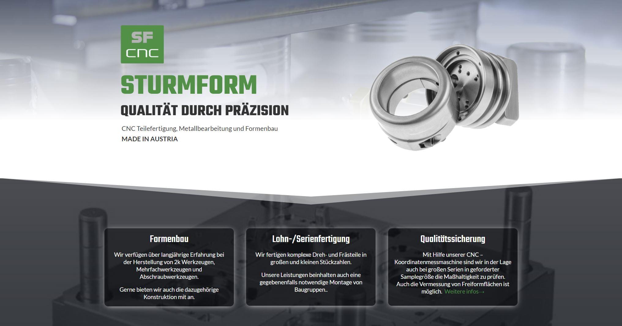 CNC Teilefertigung, Metallbearbeitung und Formenbau MADE IN AUSTRIA